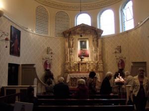 Capilla dedicada el Beato John Henry Newman en la iglesia del Oratorio de San Felipe Neri en Birmingham, Inglaterra.