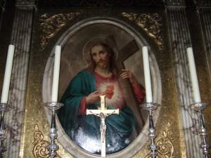 Detalle de la iglesia del Oratorio de San Felipe Neri en Birmingham, Inglaterra